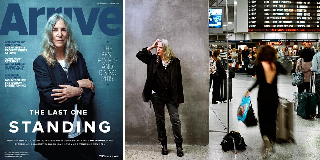 #PattiSmith's new book, M Train, is out now. Catch more of her in the next Arrive out 11/1. http://t.co/6VE3qe3HX5 http://t.co/STizUwCKMa