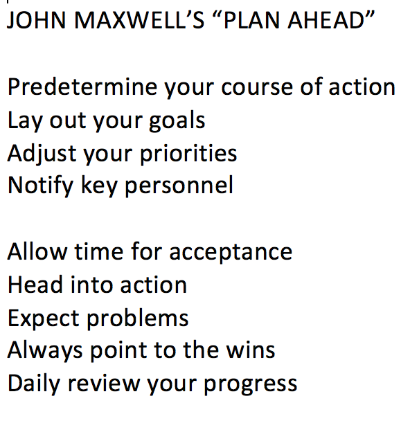 Here's @JohnCMaxwell's PLAN AHEAD strategy. #Live2Lead http://t.co/quIxVL5rtx