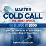 Pre-Order my new Master the Cold Call Program & learn how to handle every objection http://t.co/0HXARqKv0z #success http://t.co/9ZLps3uiui