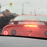 Cell phone in hand while driving. Hefty ticket. Fine went up in September to $490 + 3 demerit points #ottnews http://t.co/596smN804r