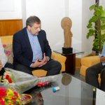 Ambassador of Spain to India called on the CM of Delhi Mr. ArvindKejriwal on Fridayat the Delhi Secretariat. http://t.co/rLBJMFbtMU