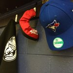Look whats currently hanging up in all the boys lockers today. Well see you this afternoon @BlueJays! #GoJaysGo http://t.co/PuR9DZOFAs