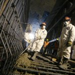 Municipalidad de Lima inició vaciado de concreto para piso de túnel debajo de puente Trujillo. http://t.co/YCtcDrGLGV