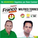 En Aguachica #seguimosPorBuenCamino con @FrancoOvalle gobernador y @Wilfredtorres alcalde. http://t.co/B8ByInwtlJ