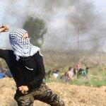 #صورة فتاة فلسطينية تشارك في المواجهات شرق مدينة غزة. عدسة علاء فهيد #فلسطين_تنتفض http://t.co/8qAdU8OAHf
