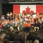 """Were all better off when we take better care of each other"" - Mulcair to supporters in #NDP base Montreal #elxn42 http://t.co/caANlJgaEN"