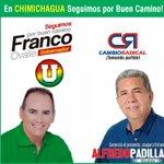 En Chimichagua #seguimosPorBuenCamino con @FrancoOvalle gobernador y Alfredo Padilla alcalde. http://t.co/XzC08duAWS