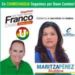 En Chimichagua #seguimosPorBuenCamino con @FrancoOvalle gobernador y Maritza Pérez alcaldesa. http://t.co/yDm18wLabz
