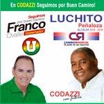 En Codazzi #SeguimosPorBuenCamino con @FrancoOvalle gobernador y Luchito Peñaloza alcalde. http://t.co/udIjJiCz1Y
