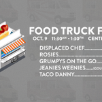 #FoodTruckFriday starts in just a few minutes in Centennial Mall! Whos hungry? http://t.co/gQlLsQmBHY