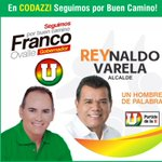 En Codazzi #SeguimosPorBuenCamino con @FrancoOvalle gobernador y Reynaldo Varela alcalde. @rey_alcalde http://t.co/QQ7kjA9vAk