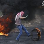 A Snap during clashes with Israeli occupation forces near #Ramallah today https://t.co/SYQmLo9vg0 #ICC4Israel http://t.co/SgWMwhz5AI