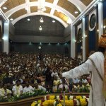 Addressing the business people of Chandni Chowk in Old Delhi Town Hall. http://t.co/eTizZFQcds