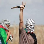 You cant make this stuff up. On the Gaza-Israel border. A peace sign and a knife.The Palestinian definition of peace http://t.co/CxxxKEC6a2