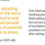 Hey, that's cool: Example of family given in NDP platform appears to be same-sex. ???? http://t.co/wVXtnyxRBL