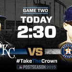 The #Royals turn to Johnny Cueto in #ALDS Game 2 on @FS1: http://t.co/Hw7Uak6SA7 #TakeTheCrown http://t.co/z2QGiWoNpa