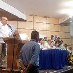 Registrador Nacional, Carlos Ariel Sánchez, habla a esta hora desde @ValIedupar_ en foro de garantías electorales. http://t.co/9iECpxKeCD