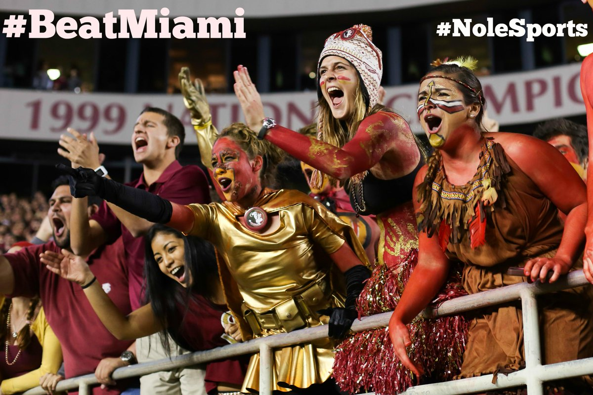 FSU fans: Retweet if you're ready to #BEATMIAMI #FSUvsUM @NoleSports http://t.co/KcmBajTeZV