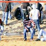 استراحة مقاتل. اليوم من مواجهات بيت ايل قرب رام الله حيث المنتزه قريب من منطقة الاشتباك #الانتفاضه_انطلقت http://t.co/wlP4R1HsnV