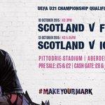 #Listen: Friday Sport, 630 pm on @northsound1, to win #Scotland under 21 VIP passes & a signed shirt ! @ScottishFA http://t.co/4HJzDLk5up