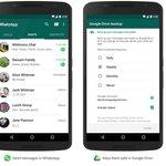 #WhatsApp permitirá guardar mensajes en Google Drive. ► http://t.co/D4byLfRWD3 http://t.co/BoiGfXg3W0