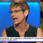 ICYMI: #CornellPresident talks with #BloombergTV about value of education and #Cornell_Tech: http://t.co/XAf2h9cbT9 http://t.co/9zuHbdjKfw