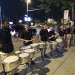The UT Marching Band will be drumming up support for the Rockets downtown tonight!  http://t.co/4AW8V5ESso http://t.co/XjpUs2aNnh