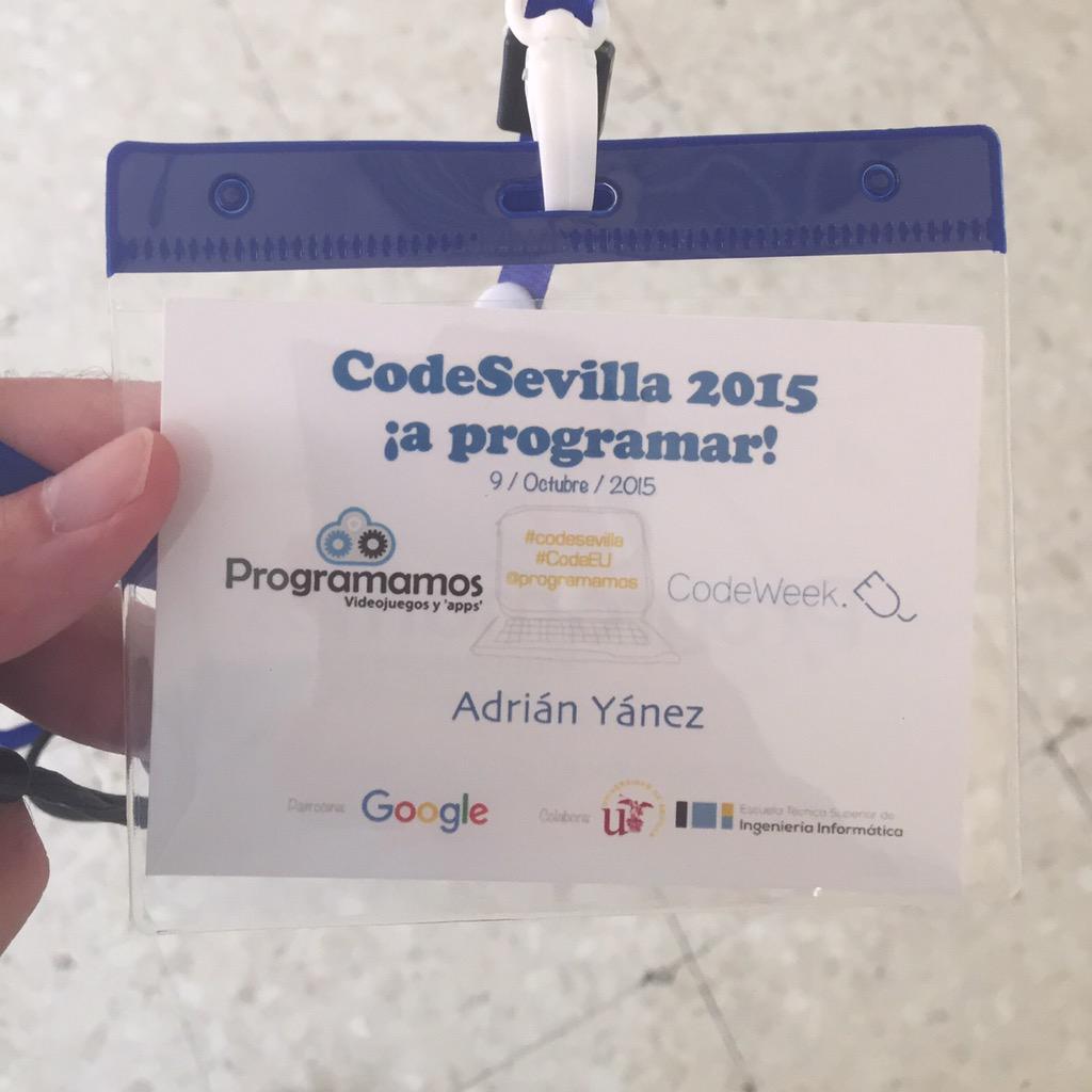 Hoy toca un poco de #comunicación con @programamos en #codesevilla2015 http://t.co/p4qNdRhZG3