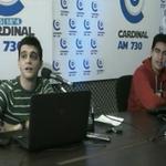 Se viene otra emisión de @algoandamalpy el domingo. Antes, charlamos con @SanTula y @enriquedavalos en #Infiltrados http://t.co/B1xVuVInTd