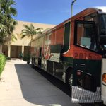 Buses ready to go... Getting closer to game day! #BeatFSU http://t.co/560mClzLwq