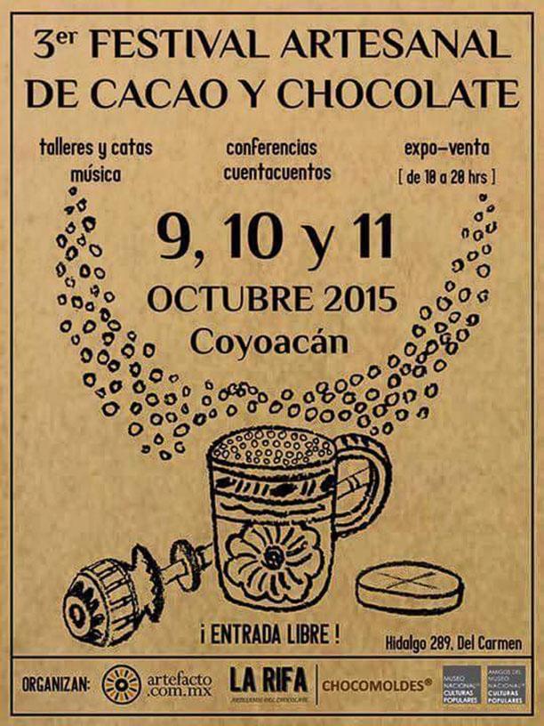 Un rico paseo en #Coyoacan Festival del #Cacao y #Chocolate 9,10,11 de octubre #EntradaLibre @MNCP_DGCP http://t.co/mPxsgRz1oh
