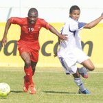 """???????????????? """"@namibiansun: Goal! Shitembi with the opening goal of the match. Gambia 0-1 Namibia. http://t.co/Tgazcg1xsx"""""""