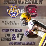 Dont miss your chance to see what the Tigers do next: http://t.co/jDC31UDcOh #LSU http://t.co/Y3I2kjhktR