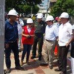 Ministro del Interior, Juan Fernando Cristo junto al alcalde @FredysSocarrasR instalación de cámaras de seguridad http://t.co/5kcLaIWqMn