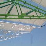 Continuamos con el cierre de cubierta del nuevo estadio de Valledupar. Más deporte! http://t.co/aGQCkwbnpf