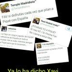 Xavi «a Piqué le pitan los aficionados del Madrid» Una imagen vale más que 1000 palabras http://t.co/AQwQMKgsGM