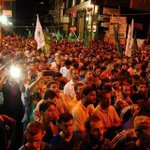 Thousands of Hamas supporters holding rally now in Gaza calling for more attacks on Israel. http://t.co/gGU9Q7r2rk
