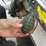 Heres the toy grenade that shut down I-95 for a few hours this afternoon. I-95 is now open http://t.co/jX5Pcp5nMm http://t.co/X5lg8fpPKu