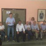 En Colonia Santa Rosa - Oran, reunión con los dirigentes @danielscioli Presidente @javierdavid72 Diputado http://t.co/GUVLcDk6LG