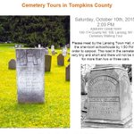 Asbury Cemetery Tour happening in Lansing tomorrow! Check out the image for more info #twithaca #lansing #cemeteries http://t.co/rw4nFhs0Rg