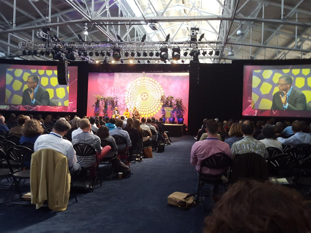 """""""Race is weird....a social shorthand that defines privilege. Opportunity is shared privilege"""" Ed Dugger #SOCAP15 http://t.co/nAqT2QgwYo"""