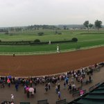 """Pano from the gate to the first turn in """"the @BreedersCup Dirt Mile test race"""" @keenelandracing http://t.co/ZdJrKIKvaM"""