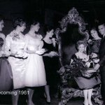 #FlashBackFriday to Homecoming in 1961! Whos coming to the festivities tomorrow? http://t.co/lGBXMXUd34