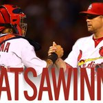 #THATSAWINNER! #STLCards 4, #Cubs 0. W-Lackey (1-0) L-Lester (0-1) HR-Pham (1), Piscotty (1).  STL leads series 1-0! http://t.co/GHRBsFrNP0
