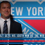 Congrats to Alain Vigneault on his 100th win as #NYR Head Coach!!! http://t.co/NoOM5M165N