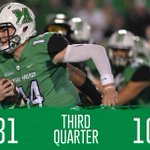 #TheHerd leads after the end of the third quarter over @SouthernMissFB, 31-10. #BEHERD http://t.co/6qFoTRnOiz