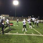 Raider touchdown with 9 sec on clock in 3rd quarter! 24 to 9- Cedar Ridge Raiders! http://t.co/5FViY6OlOt