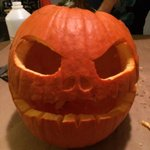 In just a lil over a weeks time my pumpkin went from jack-tacilar to geriatric! #Florida #turnthisheatoff http://t.co/boCsSEgf8g