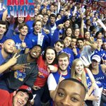 The fans are here! Use #kufanpix on Twitter and Instagram, well be adding your photos to an album all night! http://t.co/L0pjCkQplb
