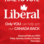 The time is now! Advanced polls are now open & it's time to bring #RealChange to #kamloops. #elxn42 @JustinTrudeau http://t.co/PRDJGjepl9